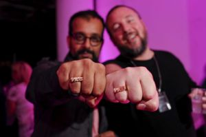 Co-founders of Vice, Suroosh Alvi and Shane Smith.