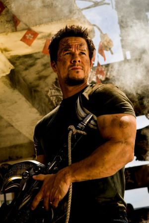 Mark Wahlberg in <i>Transformers: Age of Extinction</i>.