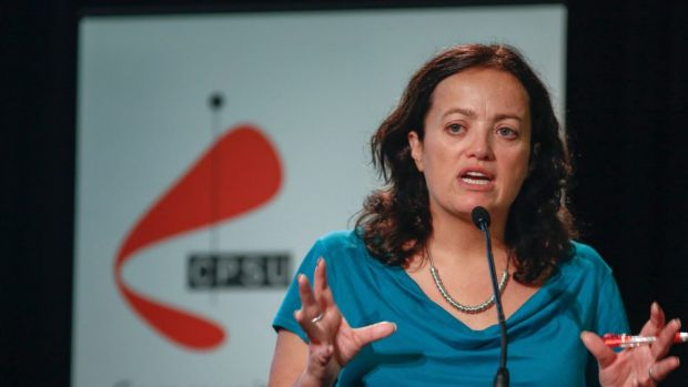 CPSU national secretary Nadine Flood has accused Ms Cash of interfering with pay negotiations.