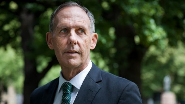 Support: Former Australian Greens leader Senator Bob Brown.