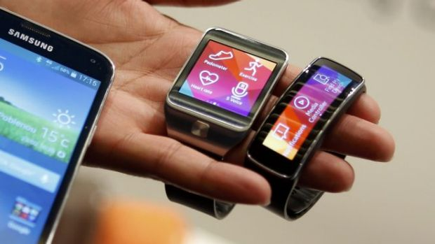 At risk: Samsung's Gear 2 smartwatch and Gear Fit band.