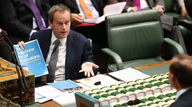 Opposition Leader Bill Shorten's popularity has hit a record low.
