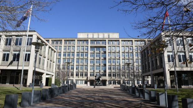 The Treasury Building in King Edward Terrace may be sold to help balance the budget.
