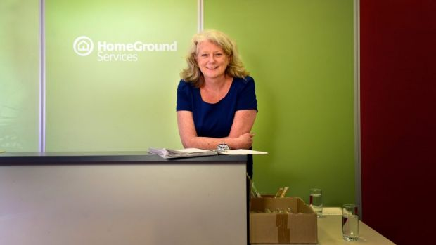 Heather Holst, CEO of Home Ground Services.