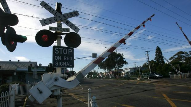 Labor has promised to remove 50 level crossings if it wins November's state poll.