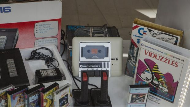 Electronic nostalgia is making a come back at a new Canberra store, Civic Computers