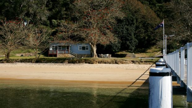 Former union retreat Currawong, at Pittwater.