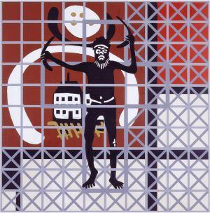 """gordon bennett the outsider The artwork """"the outsider"""" painted by gordon bennett typifies the struggle of the contemporary aboriginal spirituality to deal with the issue."""