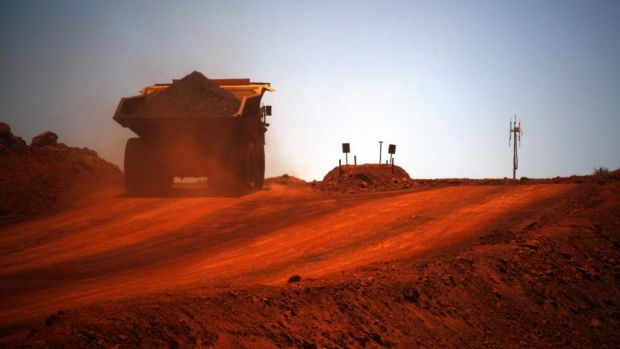 The price of iron ore has averaged about $US94 a tonne this quarter compared with $US121 in the first three months of 2014.