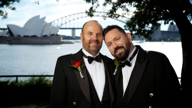 """The tourism sector will get a boost as Australia becomes a new """"destination wedding"""" location for same-sex couples."""