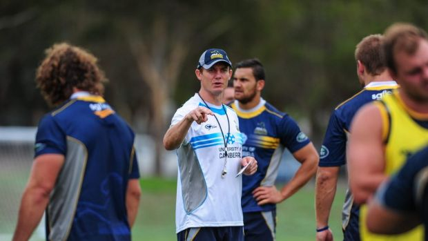 Stephen Larkham will stay with Brumbies despite being linked to the Wallabies job.