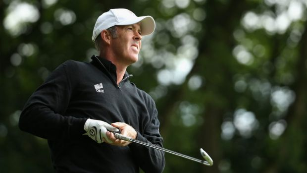 Richard Green in action on the European Tour earlier this year.