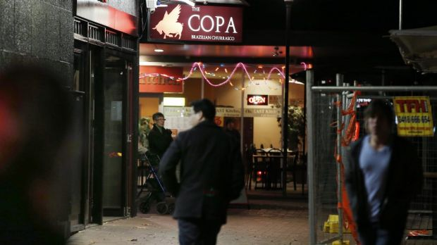 The Copa restaurant in Dickson, which is now closed, when it reopened after last year's mass poisoning.