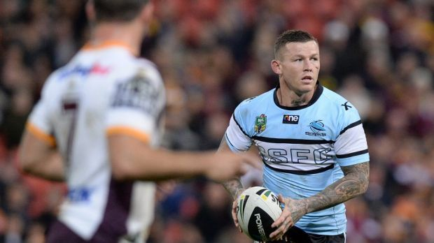 Not wanted: Cronulla are not keen to get Todd Carney back.