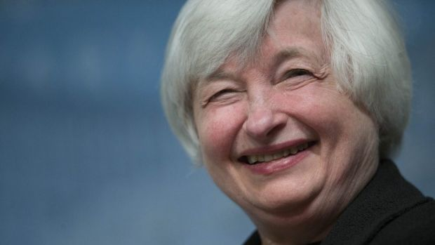 Staying low: Janet Yellen, chair of the US Federal Reserve, says she'll keep interest rates low for at least another year.