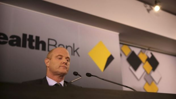 Feeling the heat: Commonwealth Bank chief Ian Narev.