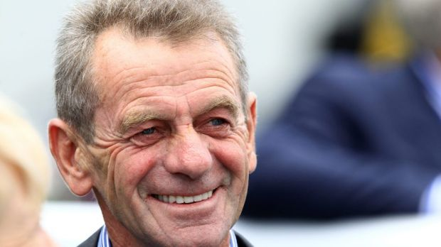 On the trot: Trainer Gerald Ryan considering forming a Melbourne satellite stable.