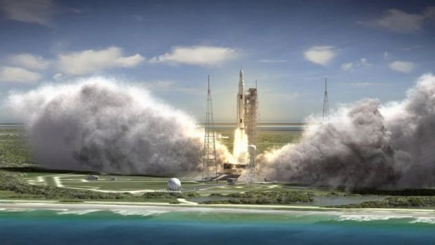 """We're ready to move forward,"" says Frank McCall, Boeing's Space Launch System deputy program manager. ""This program has ..."