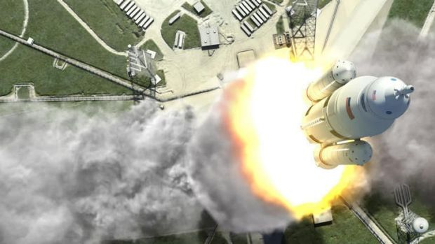 Space Launch System, a NASA rocket designed by Boeing that will be intended for deep-space exploration to near-Earth ...