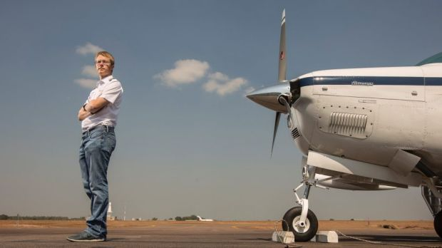 Matt Guthmiller wants to become the youngest person to fly solo around the world.