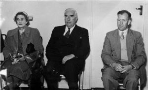 Sir Robert Menzies and his wife, Dame Pattie.