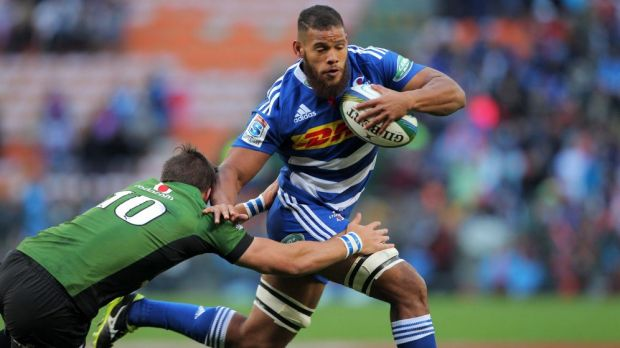 Call up: Nizaam Carr of the Stormers.