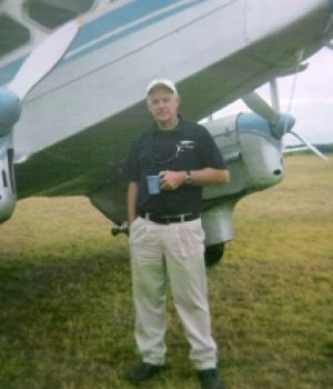 Graham White died when the light-plane he was flying crashed near Batemans Bay.