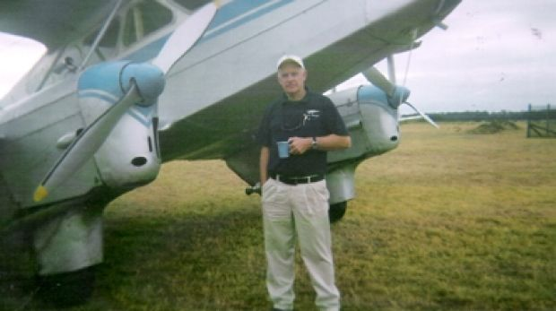 Killed: Graham White was a stalwart of the Moruya Aero Club.