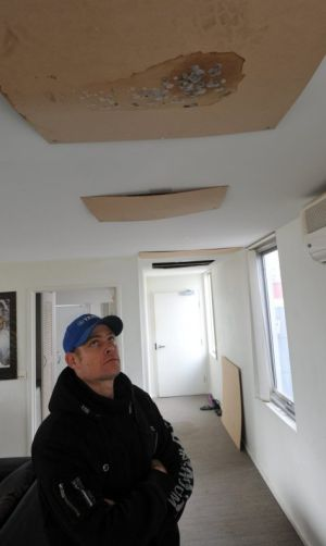Havelock Housing Association tennant Grant Seears says he has been unable to live in his Gungahlin apartment for several ...