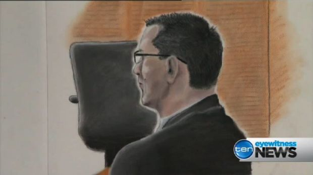 Gerard Baden-Clay learned his fate in a Brisbane courtroom today.