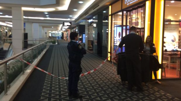 Parts of Westfield shopping centre were closed after a fatal stabbing outside Myer.