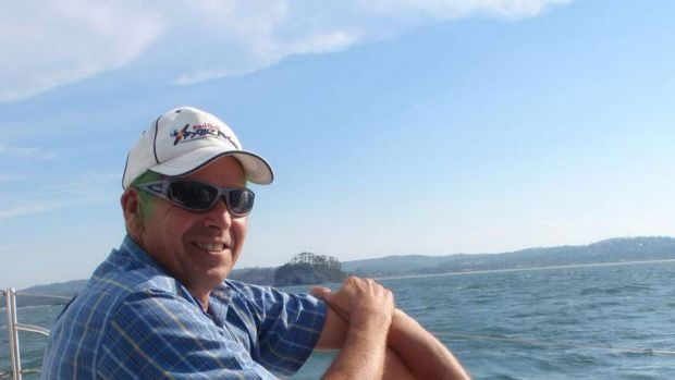 Missing: Ralph Buchanan's plane crashed into Batemans Bay.