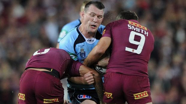"""""""At this stage it's a matter between Paul Gallen, the NRL and the Sharks:"""" Peponis."""