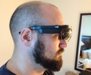 The Google Glass-style spy spectacles known as X6.