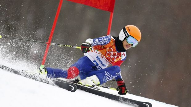Mae was a minute slower than the rest of the field in Sochi.