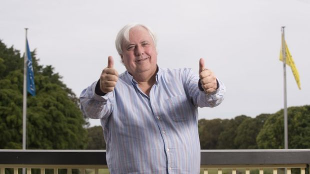Clive Palmer, Federal Member for Fairfax.