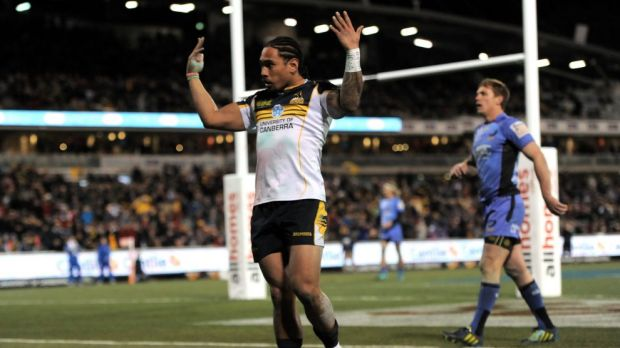 Wallabies and Brumbies winger Joe Tomane is out of the first Bledisloe clash with a hamstring injury.