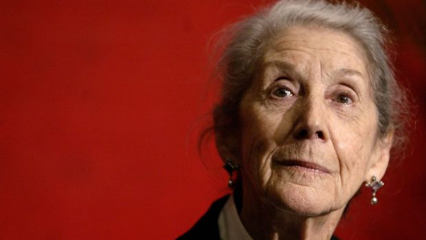 """""""Not a political person by nature"""": Nadine Gordimer."""