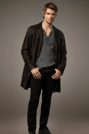 Big budget: Luke Mitchell could crack the US with his role in network drama <i>Members Only</i>.