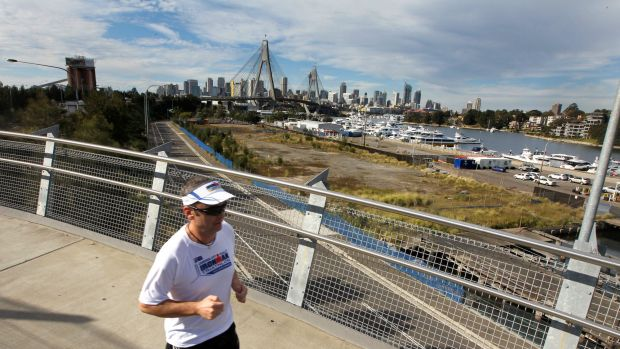 The Blackwattle Bay area will be part of the redeveloped precinct.