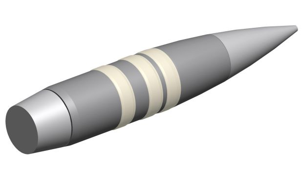 DARPA's Extreme Accuracy Tasked Ordnance (EXACTO) bullet.