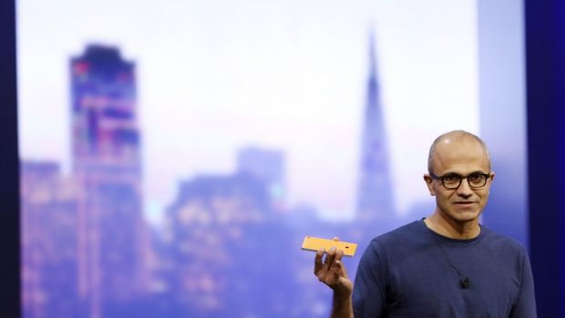 Microsoft CEO Satya Nadella says the company will no longer make Nokia phones based on the Android operating system.