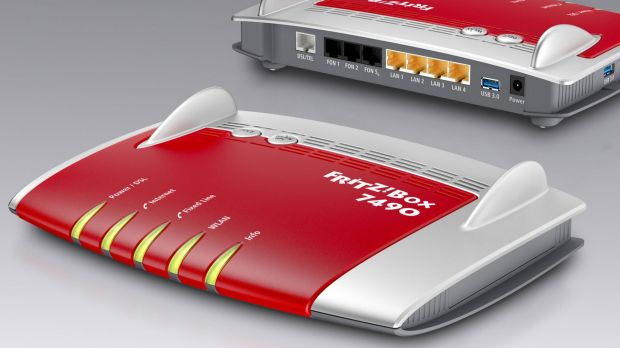 The Fritz!Box 7490 is an 802.11ac wi-fi modem/router with the lot.