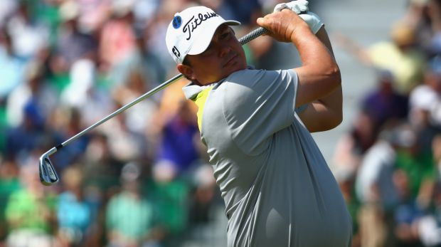 Top American Jason Dufner was satisfied with his comeback to golf at the 2014 Perth International.