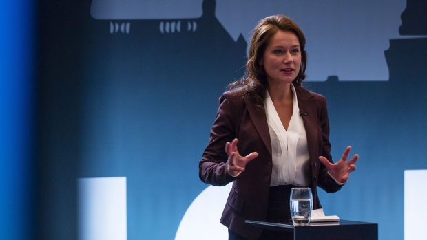 All new: the latest season of Borgen features a new, tougher Birgitte.