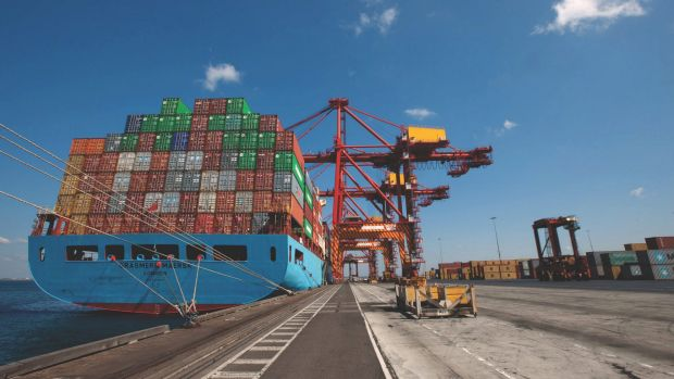 Exports fell 7 per cent in the June quarter.