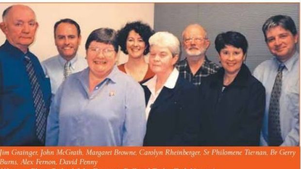 Joined the Society of the Sacred Heart: Sister Philomene Tiernan (front and centre).