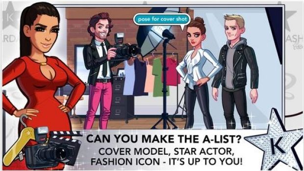 Kim Kardashian is set to earn millions from her app, which encourages users to spend up to $99 to buy the star's ...