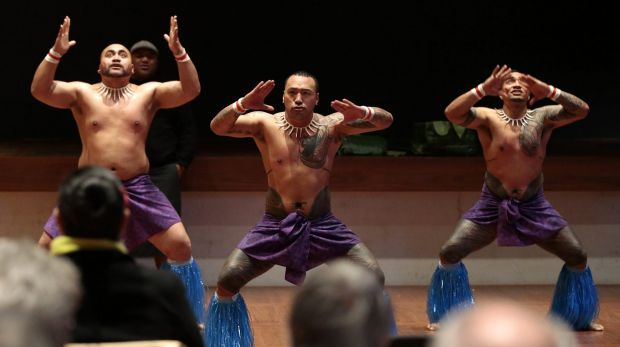Dancers from Tama Tatau at the NGA.