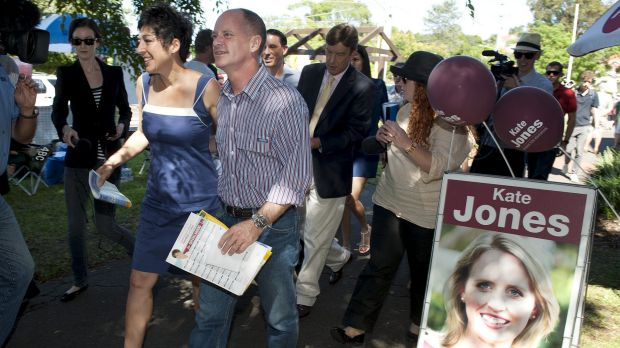 Campbell Newman defeated Labor's Kate Jones at the 2012 election.